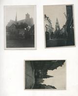 PHOTO ANCIENNE AMIENS 80 Vers 1900 Vue Générale Canal De La Somme Les Environs De La Ville Lot 3 Photos - Lieux