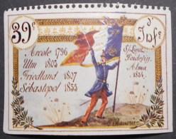 France, WWI Military Vignette, Delandre, 39th Infantry Regiment, Perf. At Top - Sin Clasificación