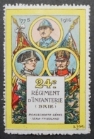 France, WWI Military Vignette, Delandre, 24th Infantry Regiment - Sin Clasificación
