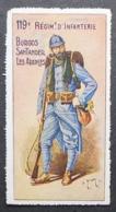 France, WWI Military Vignette, Delandre, 119th Infantry Regiment - Sin Clasificación