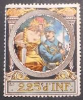 France, WWI Military Vignette, Delandre, 225th Infantry Regiment - Sin Clasificación
