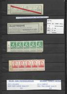 A 10 B - Xxx  - Perfect - Geen Roest - Pas De Rouille  -  Complet  Cote  :  190 € +  Limiet : 29 € - Booklets 1907-1941