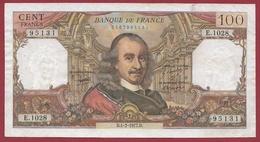 """100 Francs """"Corneille"""" Du 04/02/1977.D---TTB+---ALPH .E.1028 - 100 F 1964-1979 ''Corneille''"""
