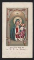 672 Santino Antico Francese Madonna Del Rosario Da Santa Maria Sopra Minerva - Roma - Religion & Esotérisme
