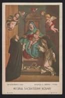 673 Santino Antico Madonna Del Rosario Da Basilica Santa Sabina - Roma - Religion & Esotérisme