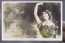 Artiste 1900- La Belle Otero  - Photo Reutlinger - Strass- Colorisée - Dance