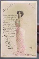 Artiste 1900- La Belle Otero  - Photo Reutlinger - Colorisée - Dance
