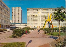 ARGENTEUIL 95  : Cité     Cité HLM -La Fleur Dans La Cité - Sculpteur Roland Brice -Biot - Argenteuil