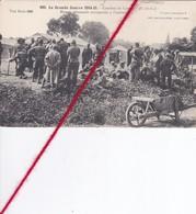 CP 62  -   CARENCY   -  Combats - Blessés Allemands Transportés à L'ambulance - France