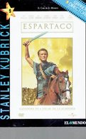 CINEMA DVD - USA 1960 - ESPARTACO- KIRK DOUGLAS - JEAN SIMMONS - P-USTINOV-T.CURTIS ETC -DIR. STANLEY KUBRICK- UNIVERSA - History