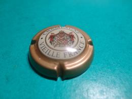 CAPSULE DE CHAMPAGNE  -   LEBRUN  -  N°  11  Contour Or Foncé, Petite écriture - Champagne