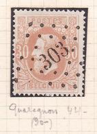 Belgique - 33 Tirage A Obl. - 1869-1883 Leopold II.