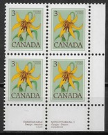Canada 1977. Scott #708 Block (MNH) Flower, Canada Lily - 1952-.... Reign Of Elizabeth II