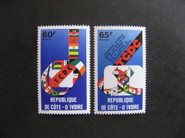 A).Cote D'Ivoire: TB Paire  N° 476 Et N° 477, Neufs XX. - Ivory Coast (1960-...)