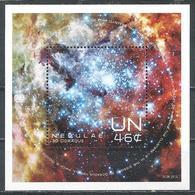 UN-New York. Scott # 1070 MNH S/sheet. Space Nebulae 2013 - New-York - Siège De L'ONU