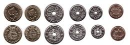 Denmark - Set 6 Coins 0,5 1 2 5 10 20 Kroner 2018 UNC Lemberg-Zp - Denmark