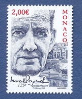 MONACO Marcel Pagnol Neuf**. Cinéma, Film, Movie. - Cinema
