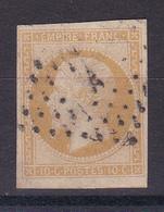 D143 / NAPOLEON N° 13A OBL COTE 20€ - 1853-1860 Napoléon III