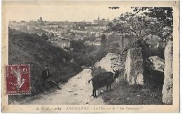 "Angouleme. La Ville Vue De ""Ma Campagne"". - Angouleme"