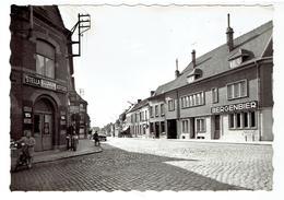 PECQ - Lot De 3 Cartes - Rue De Lannoy - Rue De Courtrai - Rue Albert I Et Rue Du Château - Photo Véritable - Pecq