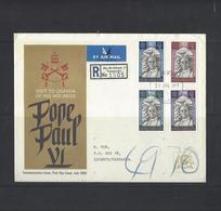 First Day Cover Pope Paul VI - Zanzibar (1963-1968)