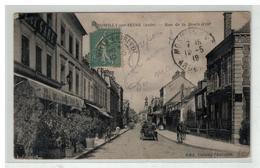 10 ROMILLY SUR SEINE RUE DE LA BOULE D OR CAFE DE LA GARE AUTO N°2 - Romilly-sur-Seine