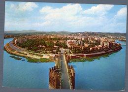 °°° Cartolina - Verona Panorama Dal Castello Scaligero Viaggiata °°° - Verona