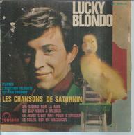 """45 Tours EP - LUCKY BLONDO  - FONTANA 460961 -   """" UN OISEAU SUR LA MER """" + 3 - Dischi In Vinile"""