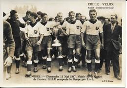 Combes  11 Mai  1947   Lille Remporte La Coupe 2 A .0    Pub - Calcio