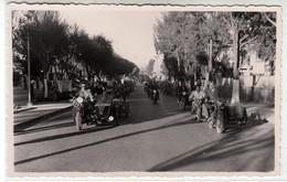 MOTO MOTORCYCLE E SIDECAR ERITREA ASMARA AFRICA - FOTO ORIGINALE 1950/60 - Foto's