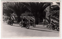 MOTO MOTORCYCLE E SIDECAR ERITREA ASMARA AFRICA - FOTO ORIGINALE 1950/60 - Other