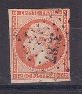 D143 /  NAPOLEON N° 16 OBL COTE 22€ - 1853-1860 Napoleone III