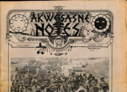 AKWESASNE NOTES (Mai 1980), Volume 12, Numéro 2, Newspaper Indian, Journal Indien, Mohwak, Ontario, New-York, 36 Pages - Histoire