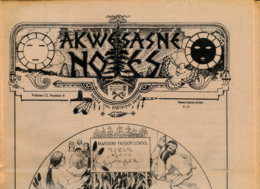 AKWESASNE NOTES (Autum 1980), Volume 12, Numéro 4, Newspaper Indian, Journal Indien, Mohwak, Ontario, New-York, 36 Pages - Histoire