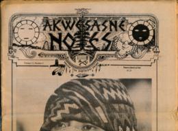 AKWESASNE NOTES (Winter 1981) Volume 12, Numéro 5, Newspaper Indian, Journal Indien, Mohwak, Ontario, New-York, 36 Pages - Histoire