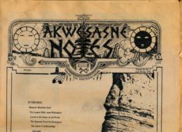 AKWESASNE NOTES (Spring 1978) Volume 10, Numéro 2, Newspaper Indian, Journal Indien, Mohwak, Ontario, New-York, 36 Pages - Histoire