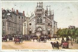Pyrénées Atlantiques : Biarritz, Eglise St Eugénie, Sortie De Messe - Biarritz