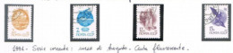 URSS - YV 5836.5839  - 1991 DEFINITIVES (COMPLET SET OF 4, COATED PAPER)  - USED - Usati
