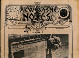AKWESASNE NOTES (Summer 1982) Volume 13, Numéro 2, Newspaper Indian, Journal Indien, Mohwak, Ontario, New-York, 36 Pages - Histoire