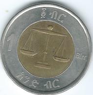 Ethiopia - 2002 - 1 Birr - KM78 -፳፻፪ - Ethiopia
