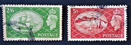 GEORGE VI 1951 - OBLITERES - YT 256/57 - 1902-1951 (Kings)