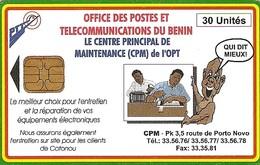 *BENIN* - Scheda Usata - Benin