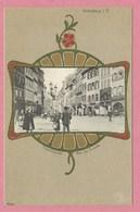 67 - STRASSBURG - STRASBOURG - Carte Fantaisie Style ART NOUVEAU - Rue Des Grandes Arcades - Strasbourg