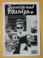 Prog 3 - BREAKFAST AT TIFFANY S, Audrey Hepburn, George Peppard, Patricia Neal - Director: Blake Edwards - Cinema Advertisement