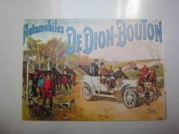 Carte Postale Automobile DE DION BOUTON - Cartes Postales