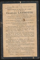 CURE TUBIZE - CHARLES LAMBOTTE  BOISSCHOT 1870 - TUBIZE 1903 - Verloving