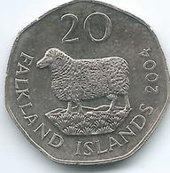 Falkland Islands - Elizabeth II - 20 Pence - 2004 - KM134 - Falkland