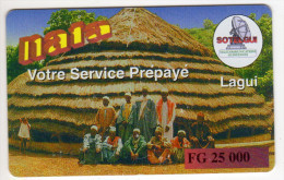 GUINEE PREPAYEE SOTELGUI 25 000 FG - Guinee