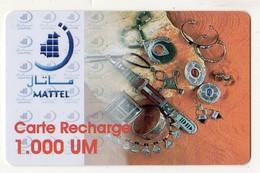MAURITANIE PREPAYEE MATTEL 1 000 UM - Mauritanië