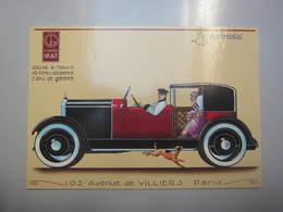 Carte Postale Automobile Georges IRAT - Cartes Postales